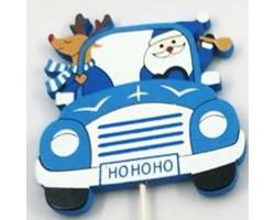 Вставка Машина 7*H20см синий арт.FH19608B