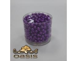Бусы на бобине 011/65 D8мм*5м металл фиолетовые