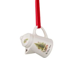 Декоративное изделие Кофейничек (керамика) FOR SWEET HOME елочка с игрушками 7,5*7*5,5см 229-159