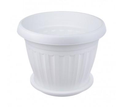 Кашпо Баргузин 1,5л белый