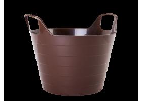 Корзина универсальная УНО D43.3*H37.7 29л темно-коричневый