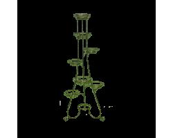 Подставка напольная Элегант (металл) на 7 горшков 148*60*60см