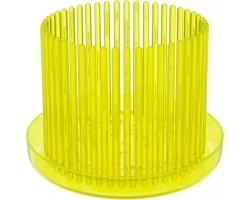 Горшок для орхидей Корона с/п D13*H12см флуоресцентный желтый