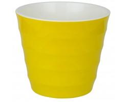 Горшок Лаура с/п D11,5*H10см 0,7л желтый