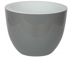 Горшок Орион с вкладкой D17.5*H13.2см 2,3л серый муссон