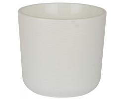 Горшок Лион с вкладкой D14,7*H13см 2,0л белый