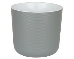 Горшок Лион с вкладкой D14,7*H13см 2,0л серый муссон