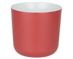 Горшок Лион с вкладкой D14,7*H13см 2,0л бордовый