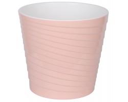 Горшок Эйс с вкладкой D17см 2,7л розовый