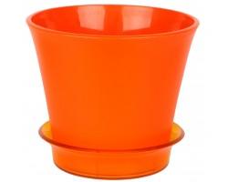 Горшок Лотос с/п D18,7*H15,8 2,7л оранжевый