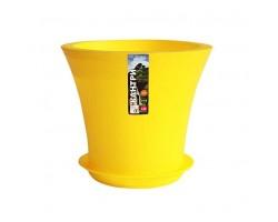 Горшок Кантри с/п D20*H17.5 3,0л желтый