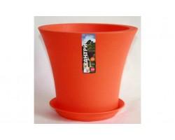 Горшок Кантри с/п D20*H17.5 3,0л оранжевый