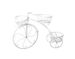 Велосипед (металл) 24*82*H49см белый арт. R-014