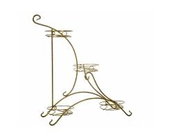 Подставка на подоконник Парус (металл) на 4 горшка