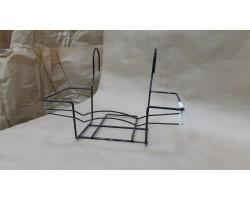 Подставка для балконных горшков (металл) 40*16см
