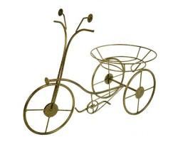 Подставка напольная Велосипед (металл) на 1 горшок