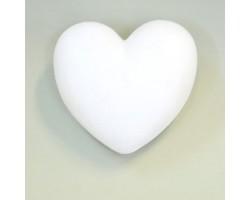Заготовка из пенопласта Сердце 15см