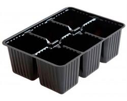 Мини кассета для рассады (пластик) 6 ячеек