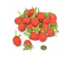 Набор малины 3,5см (упак.22шт) красный