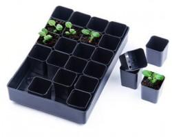 Набор для выращивания рассады (поддон, 24 стаканчика) арт.ПИ-3-11Хуп