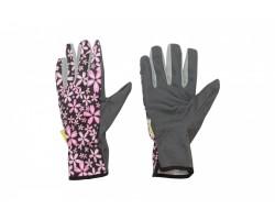 Перчатки Listok садовые х/б с ПВХ покрытием розовый M арт.LIV166-02