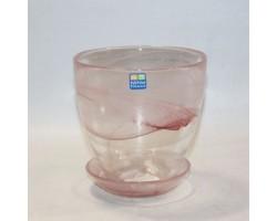 Горшок №2 алеб.D13*H12см розовый