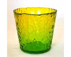 Кашпо Крок проз.D120см желто-зеленый