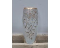 Ваза (стекло) ручная роспись 26см овал 267762