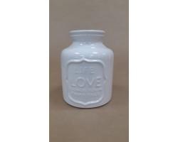 Ваза Good Advice (керамика) D8*H16см белый арт.6660-197