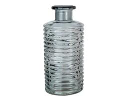 Ваза Бутылочка Сью D9,5*H21,5см серый арт.39865