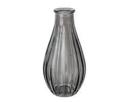 Ваза Бутылочка Декор D7*H14см серый арт.39911