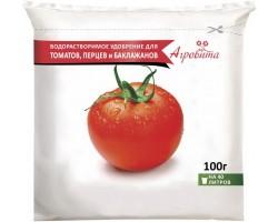 Агровита для томатов, перцев и баклажанов 100гр Нов-Агро