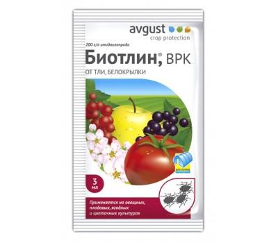 Биотлин 3мл от тли, белокрылки AVGUST