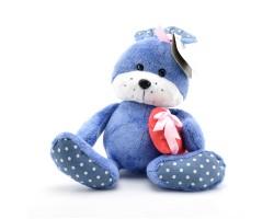 Зайчонок Сема синий арт.K191