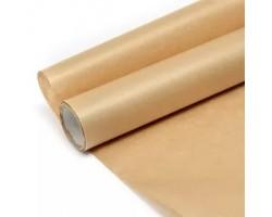 Бумага упаковочная натуральный крафт бурый 0.6*10м Ribbed 40гр/м2