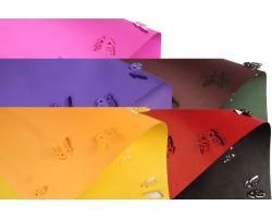 Бумага крафт 3D Бабочки 100гр/м2 70*50см (10 листов) ассорти