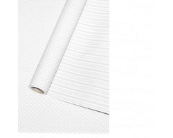 Бумага капелла 42/601-00 двухсторонняя Горошек белый пералмутровый 70см*10м