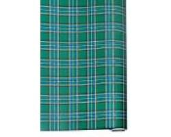 Бумага капелла 41/660-45 Шотландка зеленая 100см*10м