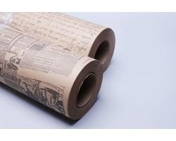 Бумага упаковочная для букетов 5кг 70гр/м с рисунком арт.80866