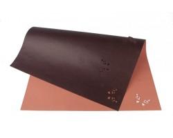 Бумага крафт 3D Бабочки 100гр/м2 70*50см (10 листов) коричневая