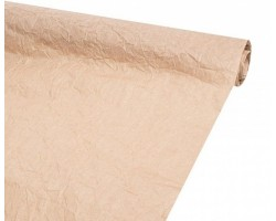 Бумага жатая однотонная 70-75см*5м ореховый