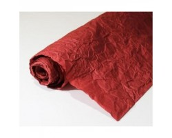 Бумага жатая однотонная 70-75см*5м бордовый