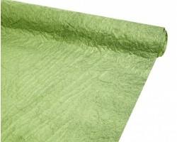 Бумага жатая однотонная 70-75см*5м зеленый