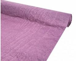 Бумага жатая однотонная 70-75см*5м фиолетовый