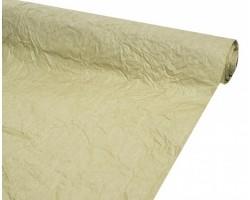 Бумага жатая однотонная 70-75см*5м оливковый