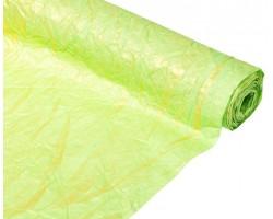 Бумага жатая с золотом 70-75см*5м салатовый