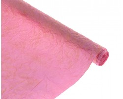 Бумага жатая с золотом 70-75см*5м розовый