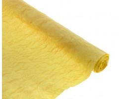 Бумага жатая с золотом 70-75см*5м светло-желтый