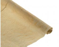 Бумага жатая с золотом 70-75см*5м бежевый