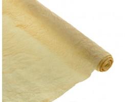 Бумага жатая с золотом 70-75см*5м кремовый